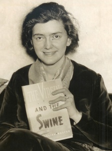 Walton and her first edition, 1936